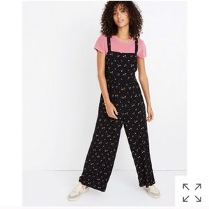 Madewell jumpsuit in flower toss